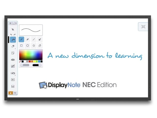 NEC_V801-TM_front_DisplayNote