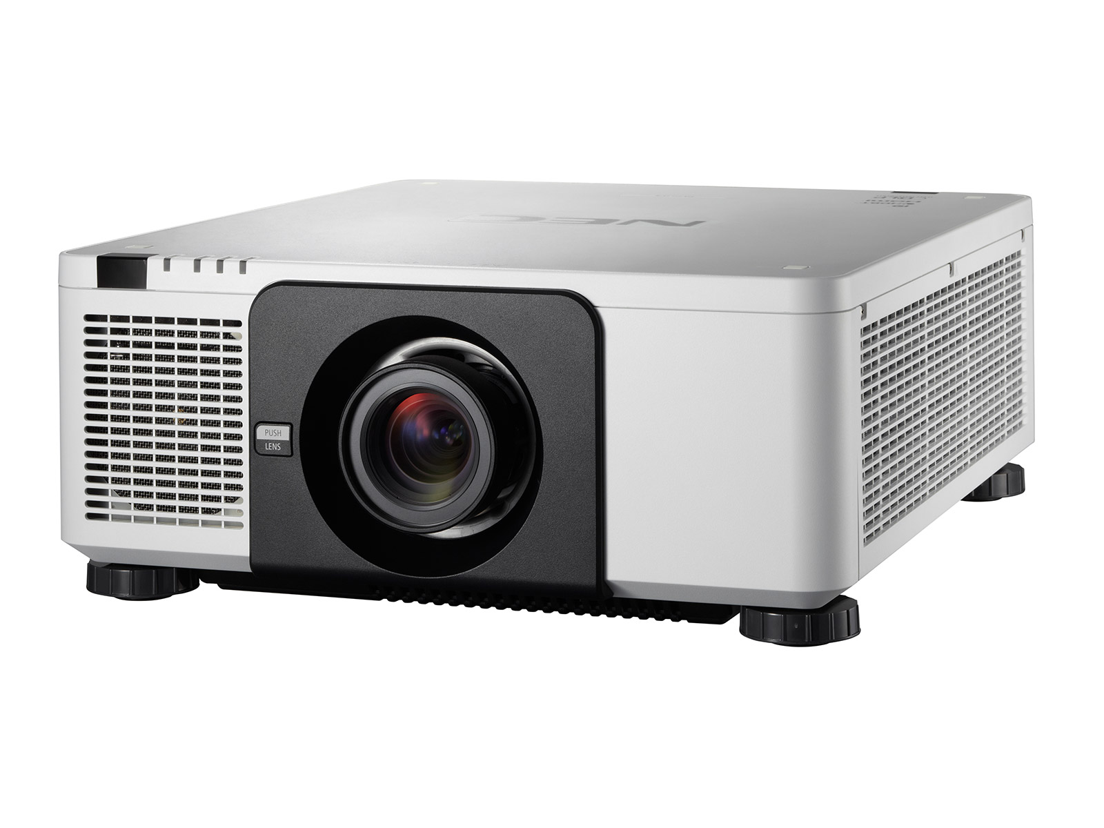 NEC PX803UL White Projector - 8000 Lumens - WUXGA - Laser Projector  (Optional Lenses)