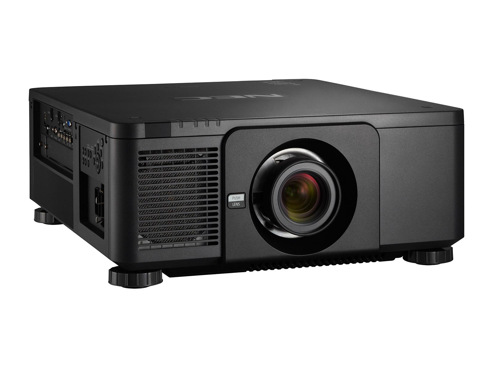 NEC PX803UL Black Projector - 8000 Lumens - WUXGA - Laser Projector (Optional Lenses)