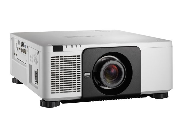 PX803UL-ProjectorViewSlantRight-White