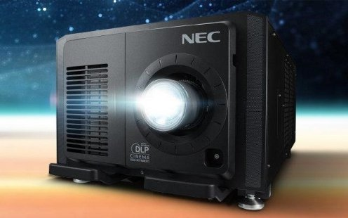 NEC launches world's first modular laser cinema projector at CinemaCon in Las Vegas