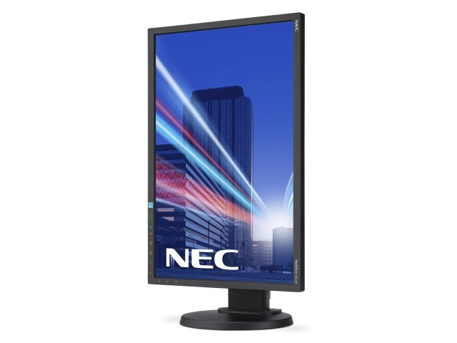 E223W-DisplayViewLeftBlack-PortNEC