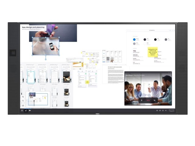 NEC 86″ InfinityBoard® 2 0 - Overview NEC Display Solutions – Europe