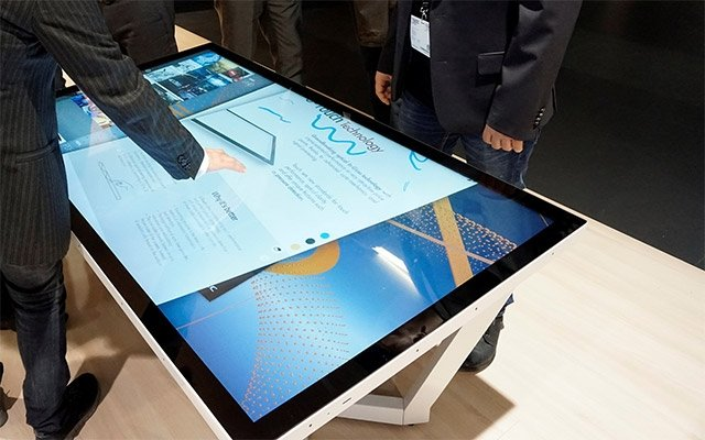 NEC adds touch table display capabilities to 55- …