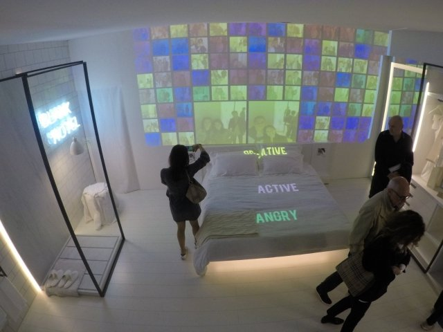 Multimedia brings a sensory experience @ Blank Hotel